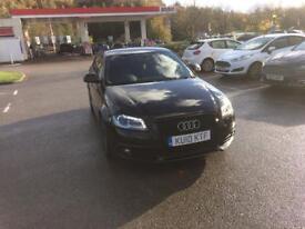 Audi A3 black edition sport back sline