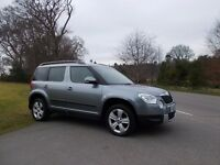 2011 11 SKODA YETI 2.0 TDI SE 5 DOOR 4X4 6 SPEED MANUAL METALLIC GREY