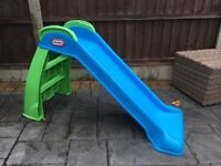 Children's Blue Little Tikes Slide Good Condition