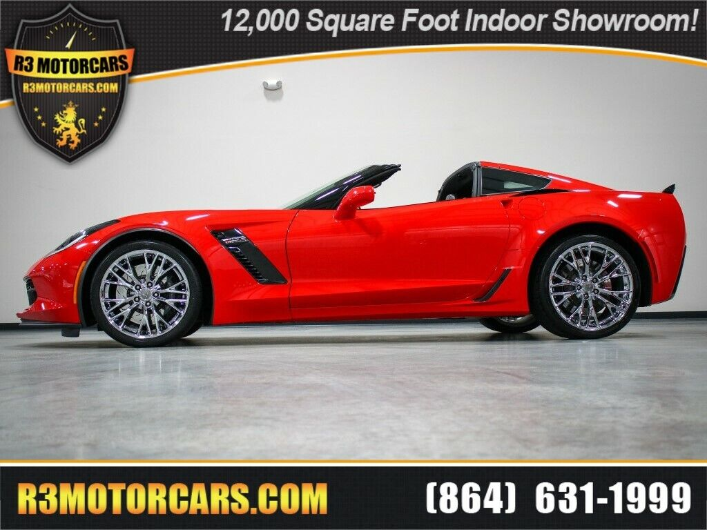 2015 Red Chevrolet Corvette   | C7 Corvette Photo 1