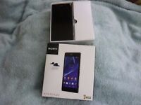 Sony Xperia z2 boxed with charger on EE