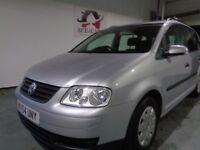 Volkswagen TOURAN 1.9TDI DIESEL 2004 SILVER MANUAL 7 SEATER