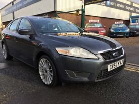 "FORD MONDEO TDCI """"57 PLATE """" 140 BHP """"18 RS ALLOYS LOW MILEAGE!!!"