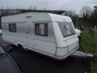 lmc touring caravan 4 berth 2005 single axle with motor mover many extra