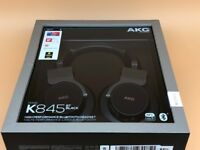 AKG K 845BT High Performance Wireless Bluetooth NFC Pairing Foldable Over-Ear Headphones