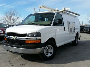 2009 Chevrolet Express 3500 CARGO VAN-C/W GENERATOR AND LADDER R
