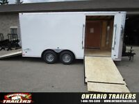 2015 Stealth Trailers LIBERTY LIMITED EDITION 8.5 X 16 FT / rear