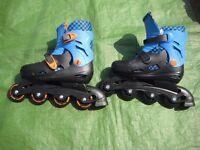 Brand New Zinc Inline Roller Skates 13-3 - Blue