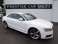 AUDI A5 2.0 TFSI S LINE SPECIAL EDITION 2d AUTO 178 BHP (white) 2010