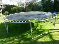 Outdoor Trampoline (13 Foot Diameter)