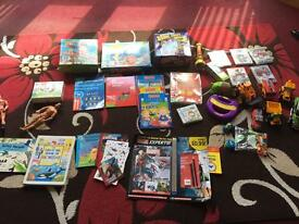 Huge variety of toys, puzzles and teddies