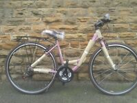 "NEW Dawes Mirage Ladies 17"" - Purple Low Step Classic Dutch Style Hybrid 700c Bike - RRP £379"