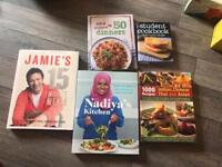 5 cookery books