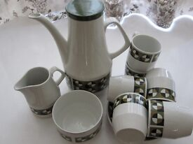 Coffee Set by Woods