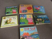 Peppa pig books x 4 plus 3 others