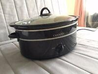 Crockpot Slow cooker Ceramic 6.5 liters like new