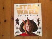 Collectible Official Star Wars Episode 1 Book: The Visual Dictionary (Hardcover)