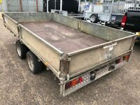IFOR WILLIAMS DROP SIDE TRAILER 12X6.6