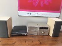 TECHNICS Stereo System & SONY record player