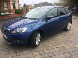 Ford focus titanium 1.6 petrol service history x2 keys