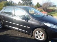 I'm looking for a peugeot 207 damaged repairable or none runner petrol or diesel
