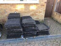 Garden plastic/rubber matts - FREE