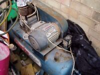 240 volt compressor unit not used anymore works well