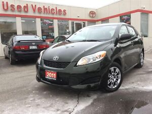 2011 Toyota Matrix Auto, Power Group, Keyless Ent