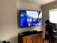 (Same Day / Next Day) TV Wall Mounting Fitting Service -Littlehampton Area