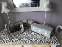 Shabby chic table with tiled top. Reluctant sale