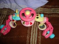 baby toy for push chair new battery in it all working