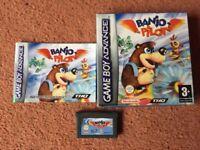 Mint Boxed Banjo Pilot Gamboy Advance Game