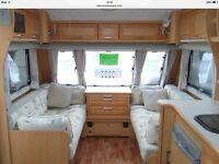 elddis 544 caravan 2007 fixed bed 4 berth motor mover
