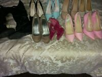 Job lot women's clothing and shoes