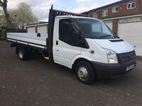 Ford transit 14 ft drop side pick up truck new body 2013