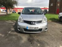 Nissan Note 1.4 2009 (59) Very Low Mileage2599