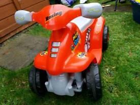 motorised quad bike