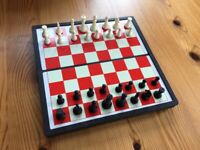 Magnetic Pocket Chess Set