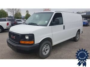 2015 GMC Savana Cargo Van Rear Wheel Drive - 35,702 KMs, 4.8L