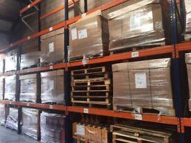 Dexion Speedlock Pallet Storage Racking - 52 x Bays Warehouse Pallet Shelves Industrial Unit Storage