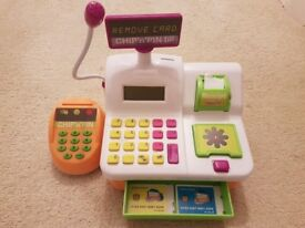 Kids electronic shopping till