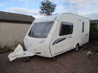 2008 Sterling Eccles Topaz 2 berth Caravan with awning and mover