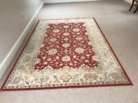 Large Persian-style Rug. Whitchurch. Cardiff.