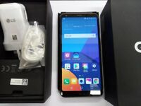 LG G6 Boxed 32gb Black 5.8 bezel less display