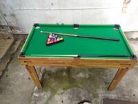 4 in 1 - Pool - Bar Football - Hockey And Table Tennis