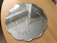 Laura Ashley mirror place mats x 3