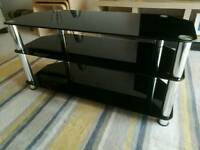 3 Shelf Glass TV stand