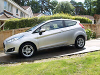 Ford Fiesta 1.25L Silver 3 Door A/C FSH Bluetooth 1 owner from new - £5,400 O.N.O.