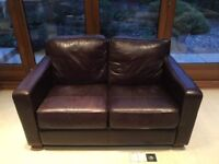 Leather Sofa - two seater