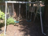 Dunster house climbing frame and swings
